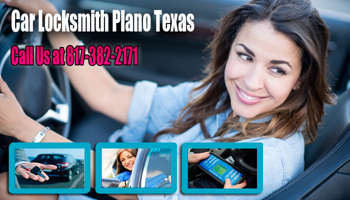 Car Locksmith Plano Texas Banner